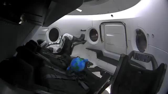 Elon Musk, Elon Musk - Earth floats gently in zero gravity GIFs
