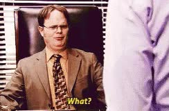 Watch and share Dwight Offended GIFs on Gfycat