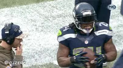 Watch and share Marshawn Lynch GIFs on Gfycat