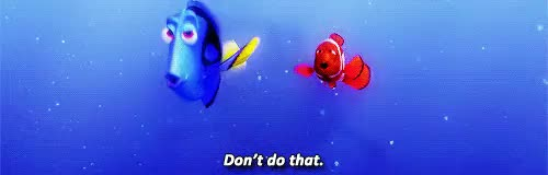 Watch and share Finding Nemo GIFs and Not My Gifs GIFs on Gfycat
