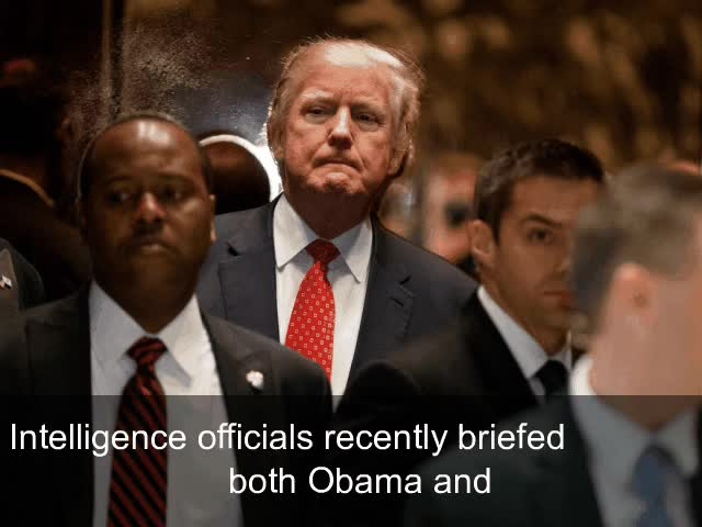 Watch and share Trump Denies Allegations Of Secret Ties, Collusion Between Campaign And Russia GIFs on Gfycat