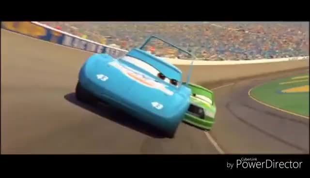 Watch and share Cars King Crash GIFs on Gfycat