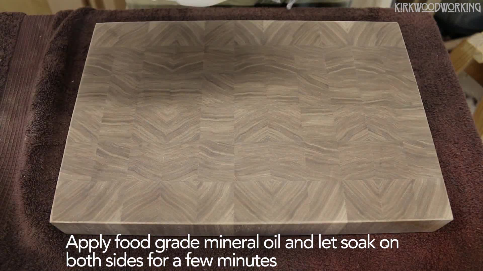 Cutting Board, End Grain, Finishing, design, furniture, hand made, woodworking, Woodworking Satisfaction GIFs