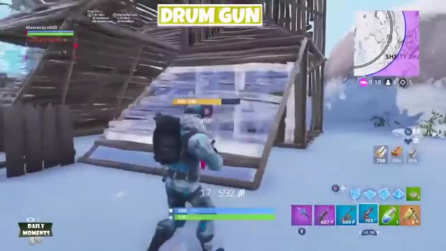 DRUM GUN vs SHOTGUN vs SNIPER - Fortnite Battle Royale #671