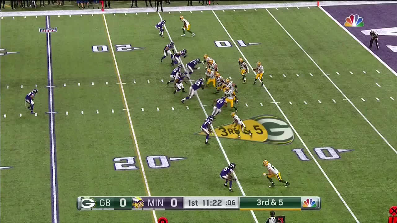 greenbaypackers, 3rd and 5 Overthrow GIFs