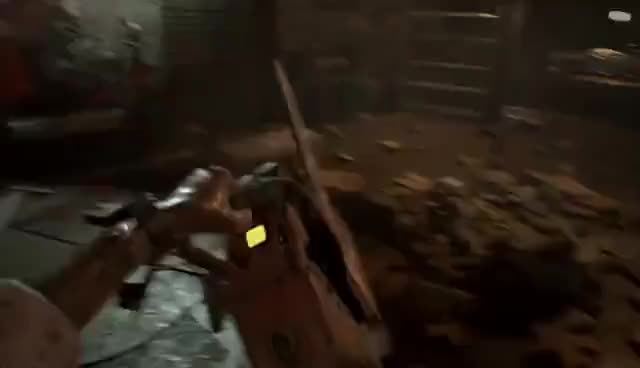 Resident Evil 7 Boss Fight Killing Jack Baker With Death Gif Gfycat