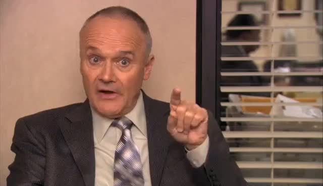 Creed Bratton, Scuba GIFs