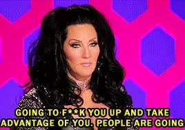 Watch and share Michelle Visage GIFs on Gfycat
