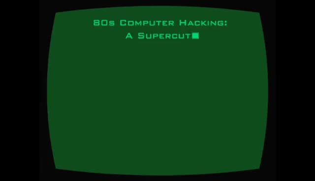 Watch and share 80s Computer Hacking: A Supercut GIFs on Gfycat