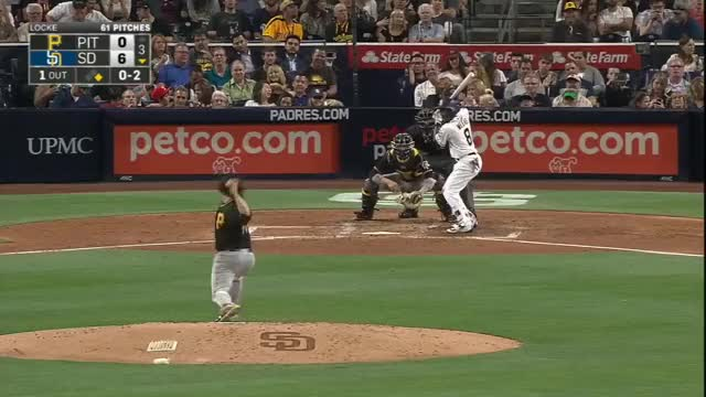Watch and share Wild Pitch Finds Umpire's Pocket GIFs on Gfycat