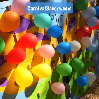 Watch and share Carnival Game GIFs and Balloon Pop GIFs by Carnival Savers on Gfycat