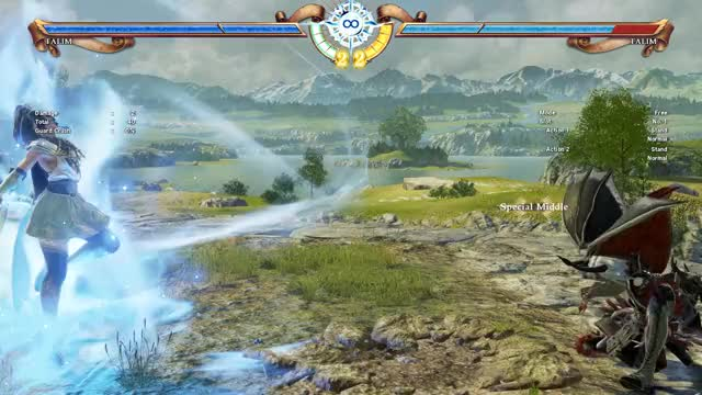 Watch 44A+B Knockdown 1 GIF by Voleno (@voleno) on Gfycat. Discover more SC6, Soul Calibur 6, Soulcalibur IV, Talim GIFs on Gfycat