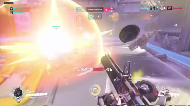 Watch 2000 IQ Junkrat trap GIF on Gfycat. Discover more PS4share, Overwatch: Origins Edition, PlayStation 4, Sony Interactive Entertainment, troumbomb GIFs on Gfycat