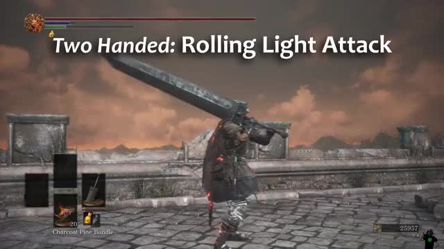 Watch and share Dark Souls 3 GIFs and Greatsword GIFs on Gfycat