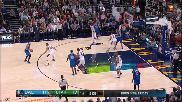 Watch and share Exum Switch Foul On Mejri GIFs by rrlewis2 on Gfycat