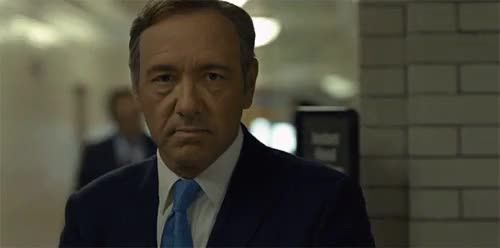 Watch and share Frank Underwood GIFs and House Of Cards GIFs on Gfycat