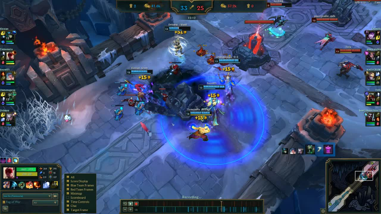 leagueoflegends, Lee Sin ARAM Penta GIFs