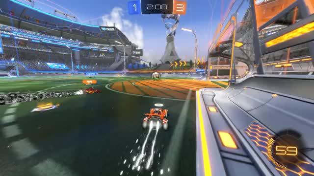 Watch Goal 5: Binagin GIF by Gif Your Game (@gifyourgame) on Gfycat. Discover more Binagin, Gif Your Game, GifYourGame, Goal, Rocket League, RocketLeague GIFs on Gfycat