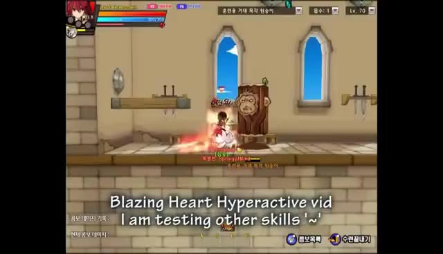 Watch and share Blazing Heart GIFs and Elsword GIFs on Gfycat