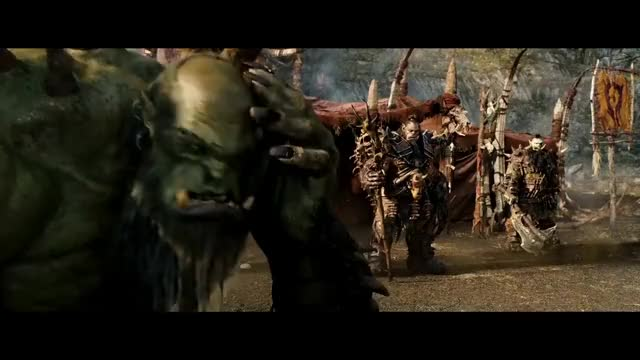 Warcraft 2016 Gul Dan Vs Durotan Mak Gora 4k Gif Gfycat