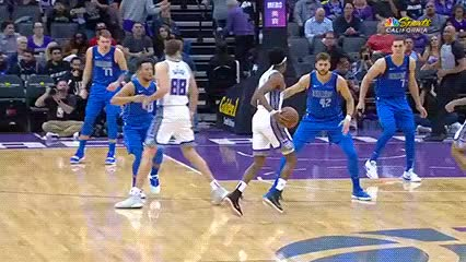 Watch De'Aaron Fox — Sacramento Kings GIF by Off-Hand (@off-hand) on Gfycat. Discover more 032619 GIFs on Gfycat