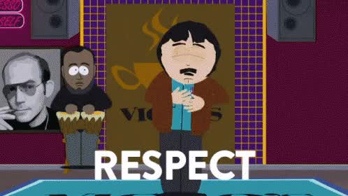 Watch randy marsh respect.gif GIF by Streamlabs (@streamlabs-upload) on Gfycat. Discover more related GIFs on Gfycat