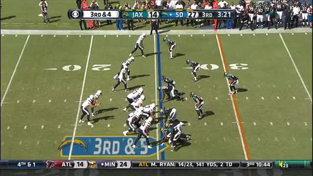 Watch Philip Rivers and Donald Brown combining to turn a loss into a 20 yd gain GIF by @elfa82 on Gfycat. Discover more chargers GIFs on Gfycat