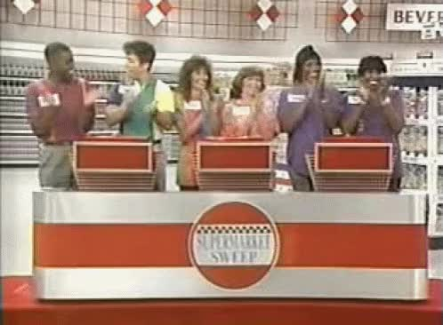 Watch and share Supermarket Sweep GIFs on Gfycat