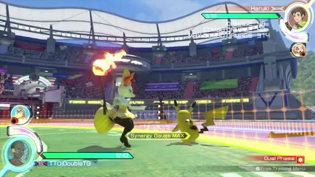 Watch and share Pokken Tournament GIFs and Fighting Games GIFs by double__ on Gfycat