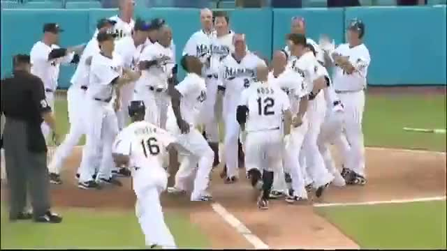 Watch and share Baseball GIFs and Marlins GIFs by Ely Sussman on Gfycat