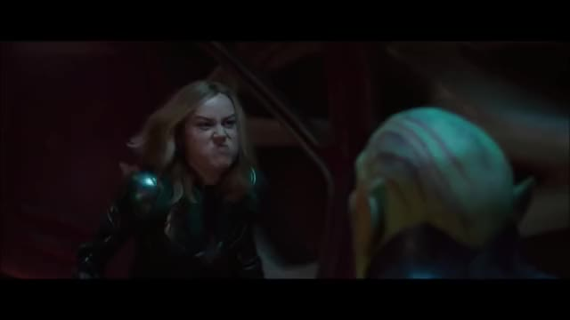 Watch this trending GIF by joe (@fee.licitas) on Gfycat. Discover more brie larson, captain marvel, fight, marvel, scream, skrull, superhero GIFs on Gfycat