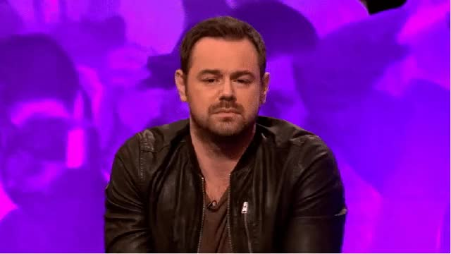 Watch and share Gallery Danny Dyer Celebrity Juice animated stickers on Gfycat