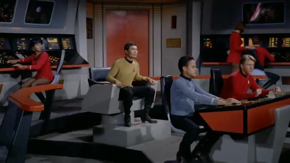 startrek, Start Trek TOS - Hot Seat GIFs