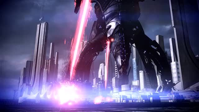 Watch Reaper Attack GIF by @j555 on Gfycat. Discover more Mass Effect 3, Reapers, masseffect GIFs on Gfycat