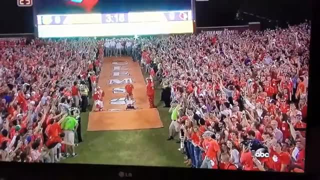 Watch and share Clemson The Hill GIFs on Gfycat