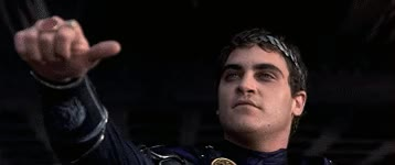 Watch and share Joaquin Phoenix GIFs and Thumbs Down GIFs on Gfycat