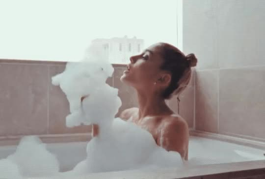 Watch this ariana grande GIF by The GIF Smith (@sannahparker) on Gfycat. Discover more ariana grande, british vogue, bubble bath, bubbles, relax, treat yo self GIFs on Gfycat