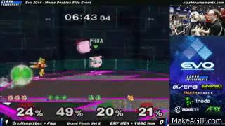 The hypest moment of EVO