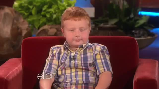 Watch and share Ellen Meets The 'Apparently' Kid, Part 1 GIFs on Gfycat