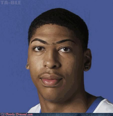 Watch anthony davis unibrow eagle anthony davis gifs GIF on Gfycat. Discover more related GIFs on Gfycat
