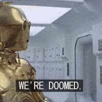Watch and share Star Wars We're Doomed Photo  GIFs on Gfycat