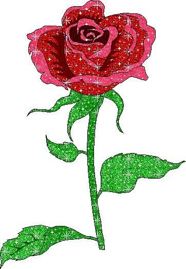 Watch and share Dibujo Brillante De Rosa animated stickers on Gfycat