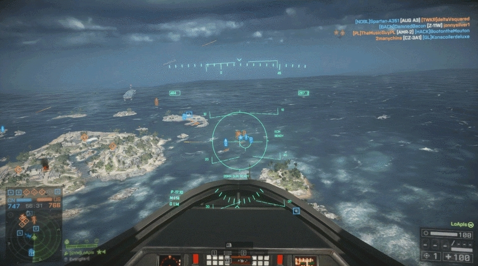tsunderesharks, [REQUEST] Can someone tsundere this gif of shark-chan and attack plane-kun (x-post from r/battlefield_4) (reddit) GIFs