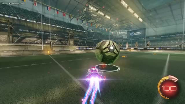 Watch and share Rocket League - Boost Dribbling GIFs by CherryDashZero on Gfycat
