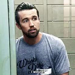 Watch and share Rob Mcelhenney GIFs and Charlie Kelly GIFs on Gfycat
