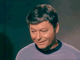 Watch and share Deforest Kelley GIFs on Gfycat