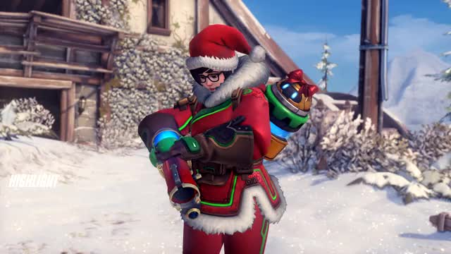Watch and share Mei Snowball GIFs and Overwatch GIFs on Gfycat