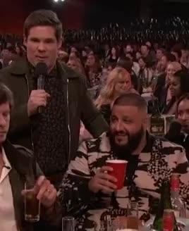 adam devine, admire, dj khaled, look, love, mtv awards, mtv awards 2017, mtvawards, mtvawards2017, The look of Love DJ Khaled GIFs
