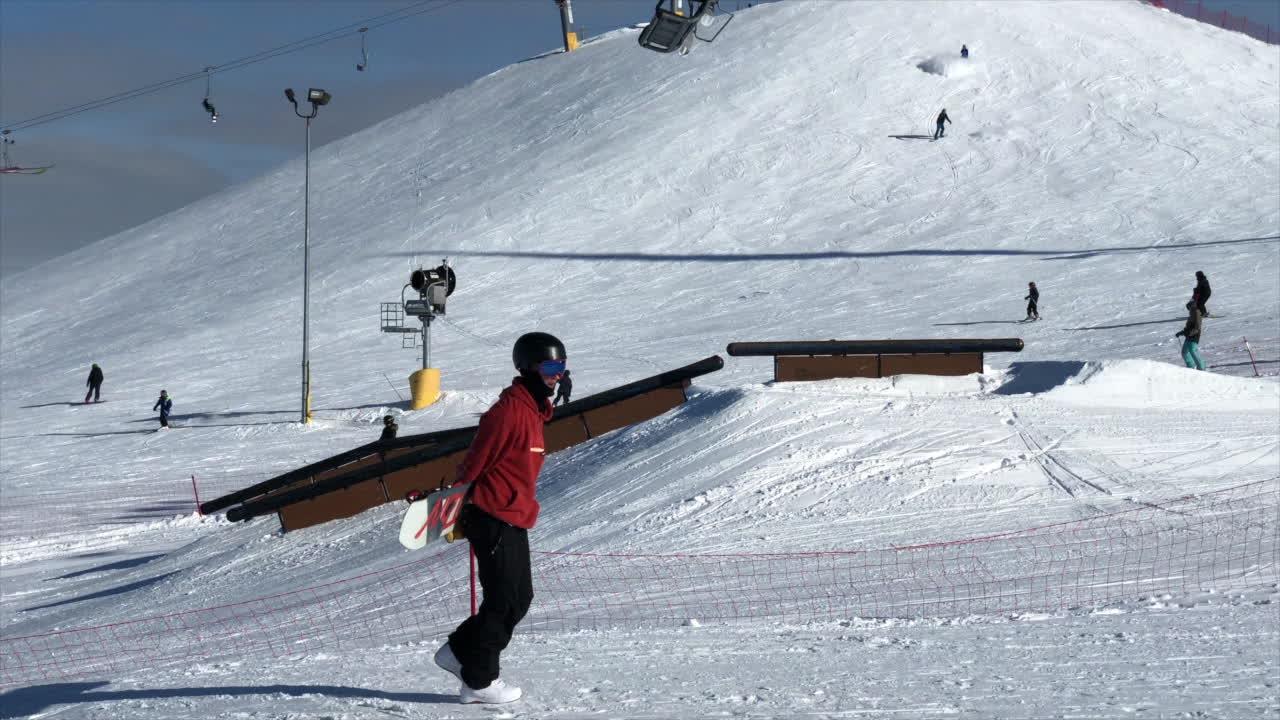Keenan Demchuk, snowboard, snowboarding, Keenan Demchuk Nationals 2018 GIFs