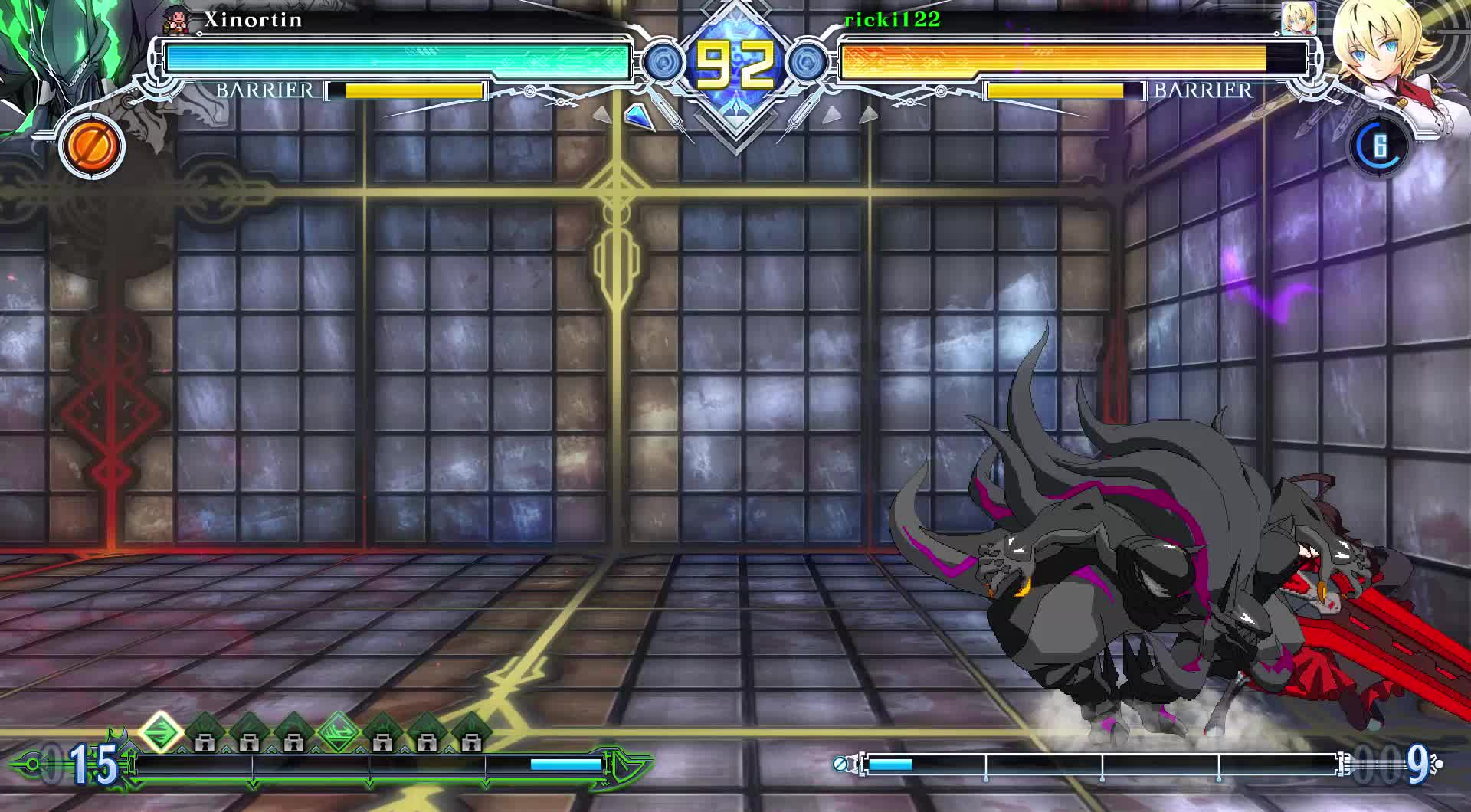 blazblue, combo, es, ricki122, susanoo, alright then GIFs